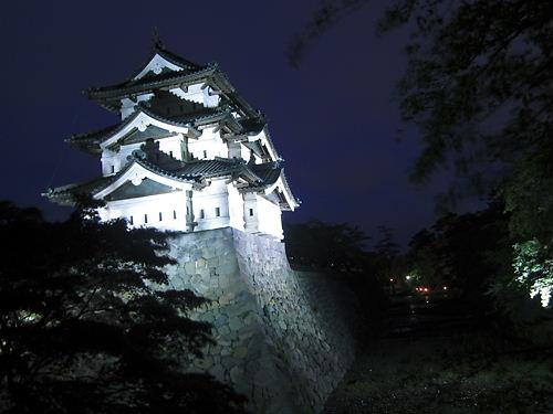 夜の天守 (2)