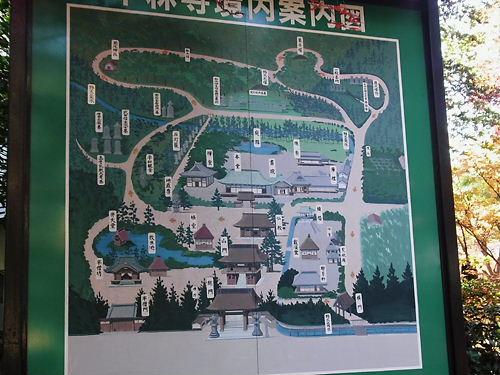 平林寺案内図