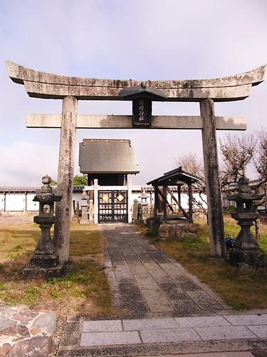 福知山城の神社