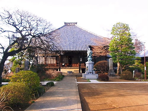 休台寺本堂