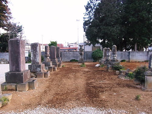 休台寺横田墓所