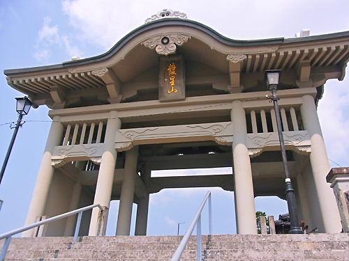 本妙寺仁王門