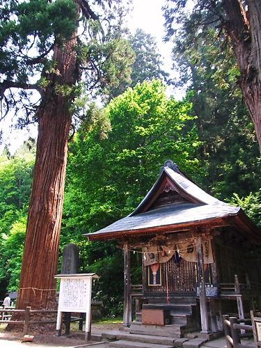 飯盛山の神社