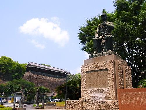 谷干城と東十八間櫓