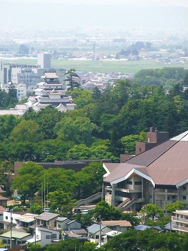 砲台から鶴ヶ城