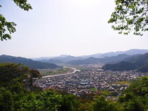 佐伯城より (2)