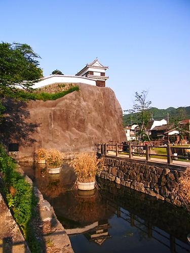 臼杵城と濠