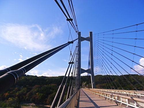 秩父ハープ橋