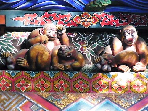 秩父神社三猿
