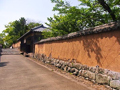 杵築の城下町