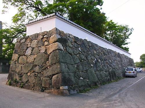 中津城石垣