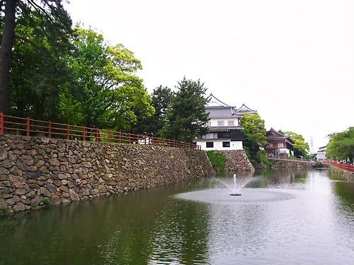 小倉城噴水