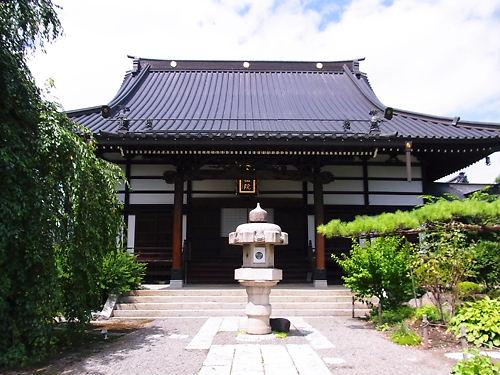 貞松院本堂