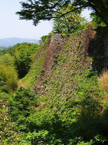 岡城高石垣