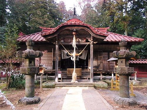 那須神社拝殿