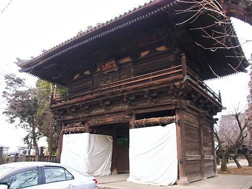 勝願寺楼門