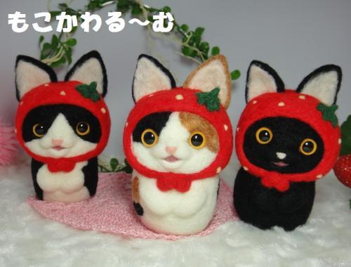 苺マト三毛猫6