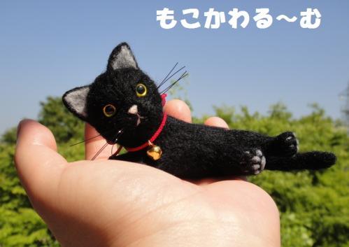 ミニ黒猫6
