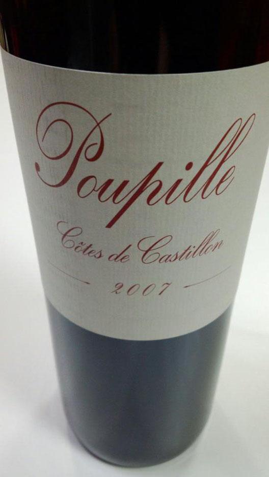 Poupille(プピーユ) Cotes de Castillon