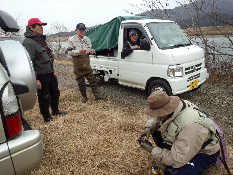 荒川サクラマス釣り 3月18日 新潟村上