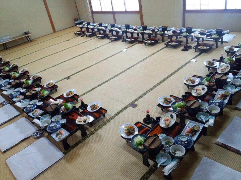 新潟村上 人形さま巡り いそべ食堂 歓迎会 送別会