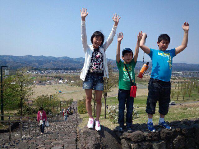 子供の日 長岡市 国営越後丘陵公園