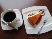 ミュージアムカフェでケーキセット