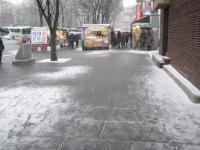だんだんと雪が積もり始め・・・