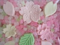 花のお菓子