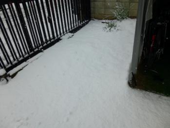 2013、大雪