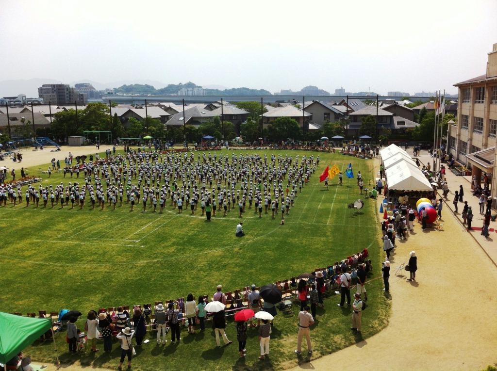 20130526_百道浜小学校運動会