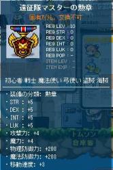 遠征隊マスターの勲章