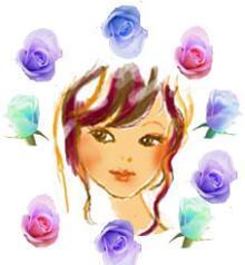 $便箋 無料 ダウンロード・便箋・封筒・本・恋愛・ぬりえ・★all無料~ブログラバー-女と髪