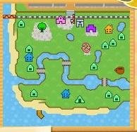 にじのかなた村地図