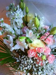 かかりつけの病院からいただいたお花