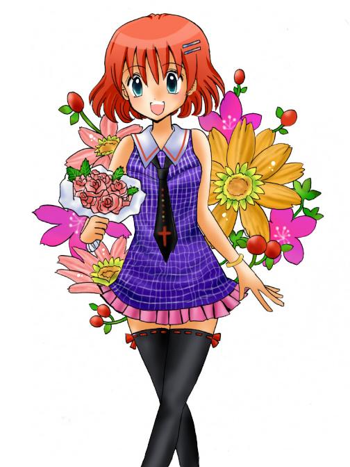 花束の少女★