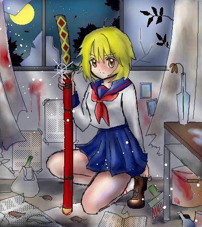 少女と刀と・・・