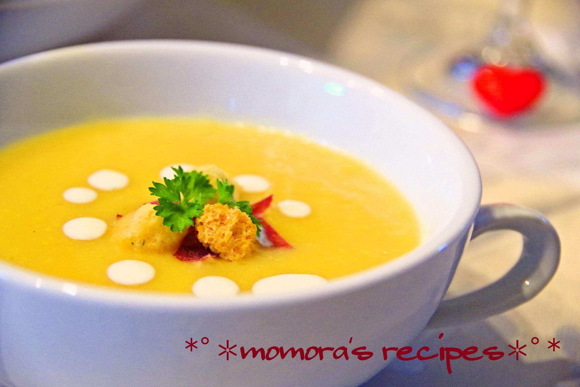 薩摩芋スープ