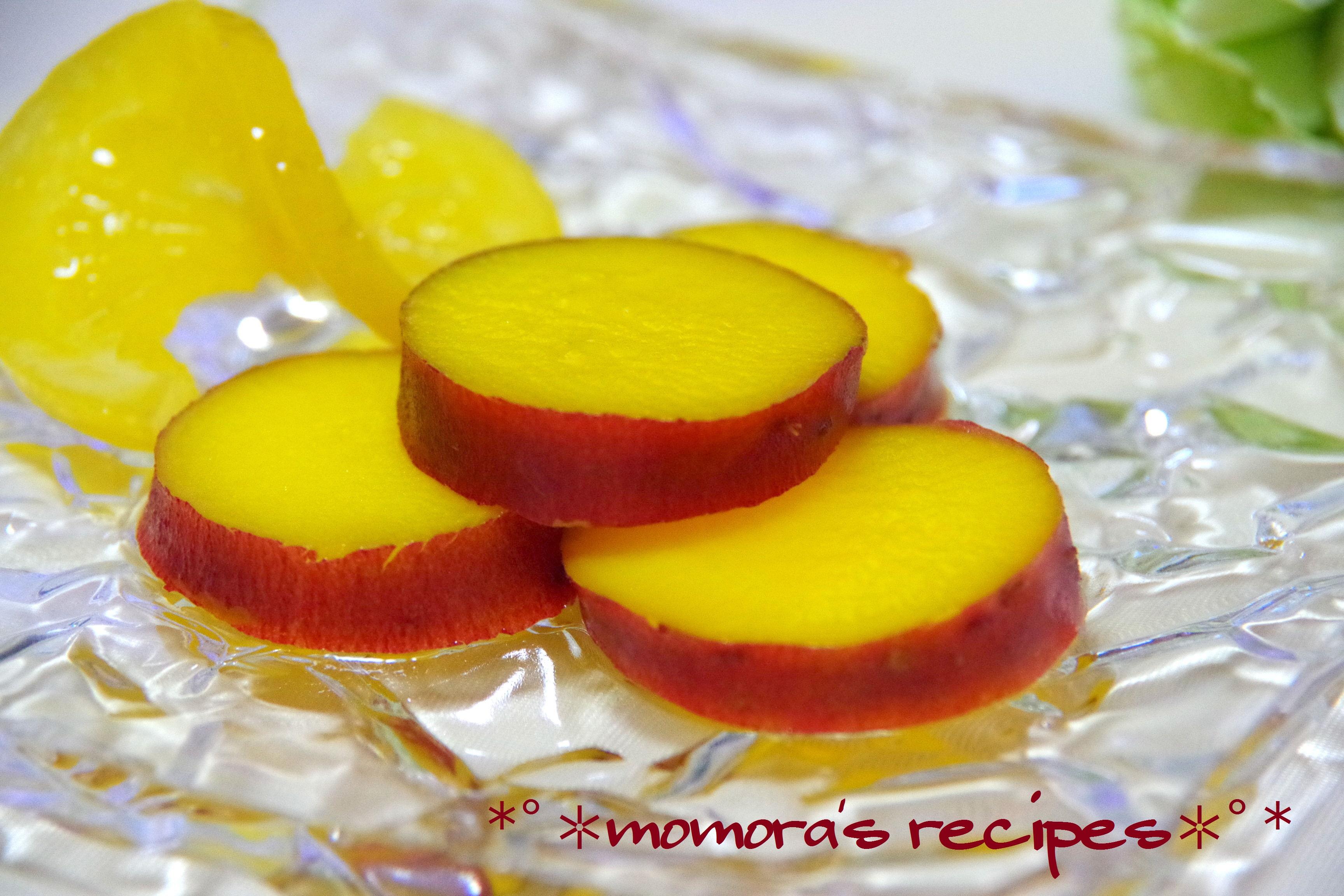薩摩芋のオレンジ煮