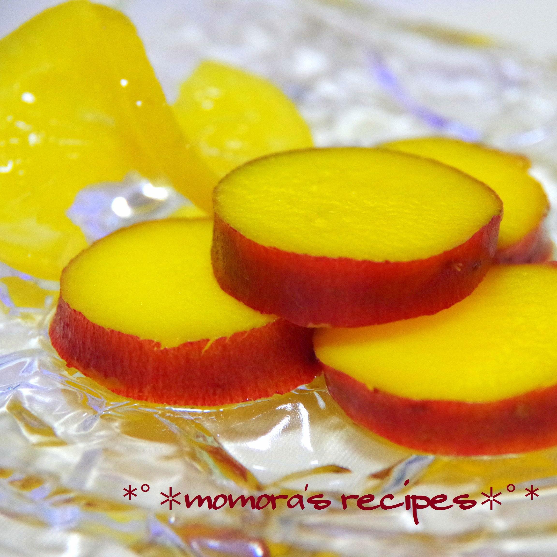 薩摩芋のオレンジ煮1