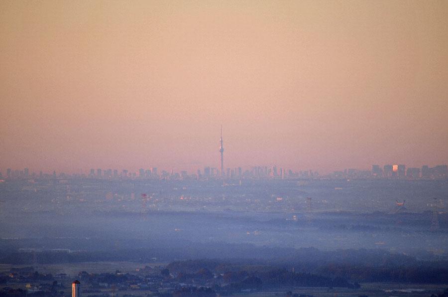DSC_0747スカイツリーと靄