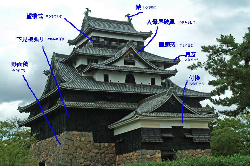 DSCF5001松江城の特徴