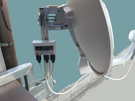モンガーの小屋 衛星放送を2分配する ~分配器と分波器の違い~