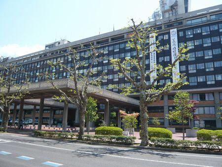 岡山県庁外観