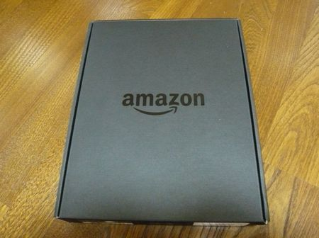 Kindle Fire HD 外箱
