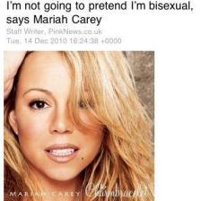 Mariah - Straight