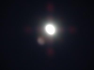 月(夜景モード)