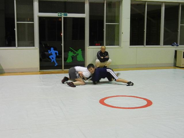 練習レスリング 004
