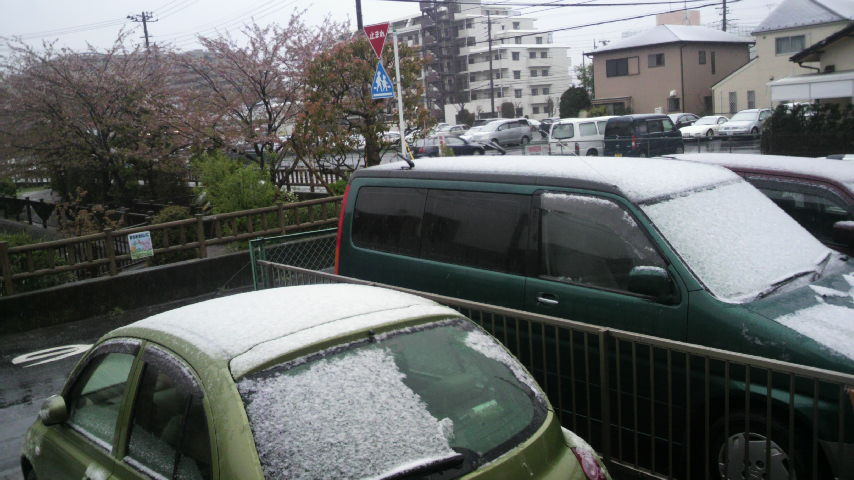 2010年4月17日 天気・・・雪