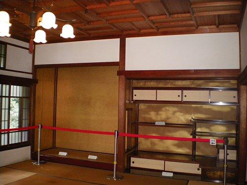 旧前田侯爵邸・2階座敷